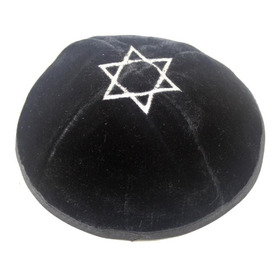Kipah De Veludo Importado Israel - K196