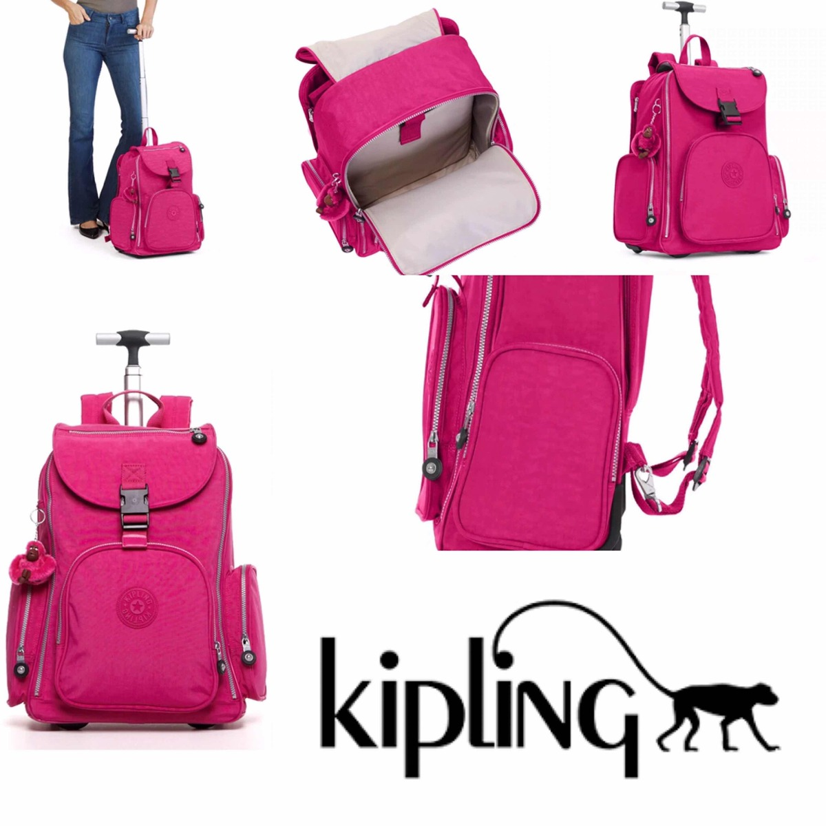 kipling alcatraz large rolling laptop backpack. Cargando zoom. 492a5fb6a1be4