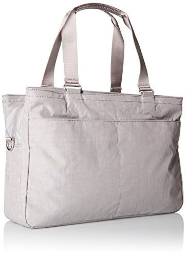 kipling bolso de compras juliana especial, gris pizarra