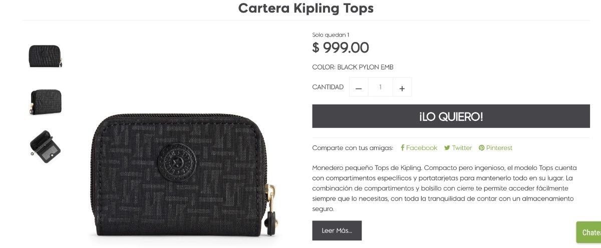 ca65f2800ac kipling cartera pequeña tops rose gold 100% original oferta. Cargando zoom.