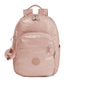4e6c687024c Kipling Mochila Backpack Seoul Small Rose Gold 100% Original