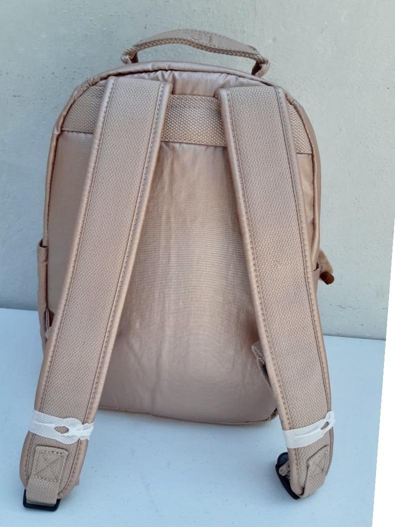 7a50e1479 kipling mochila backpack seoul small rose gold 100% original. Cargando zoom.