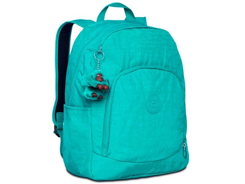 85bda4a05 kipling mochila escolar carmine verde 1514893l loja pixolé. Carregando zoom.