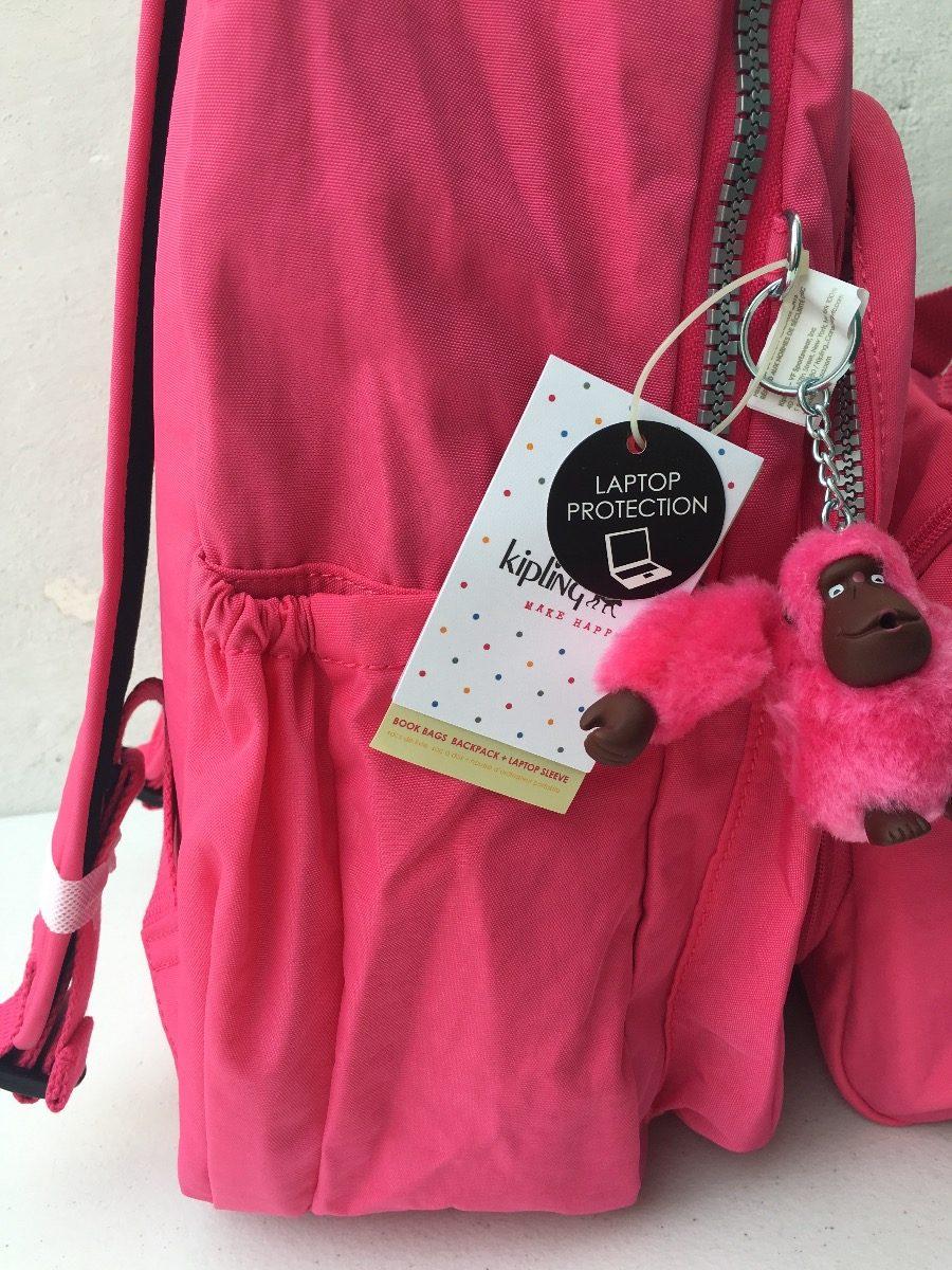 031ae7cab Kipling Mochila Seoul Grande Rosa Original Oferta - $ 2,299.00 en ...