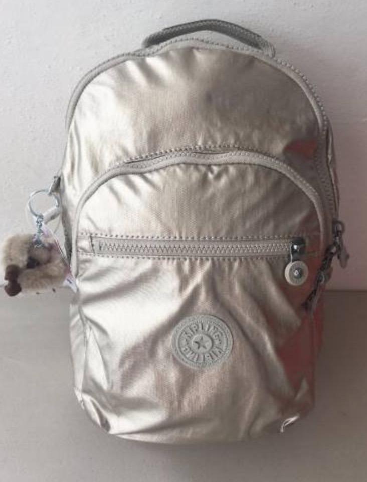 ea84af2ed Kipling Mochila Seoul Small 100% Original Dorado Oferta - $ 1,835.00 ...