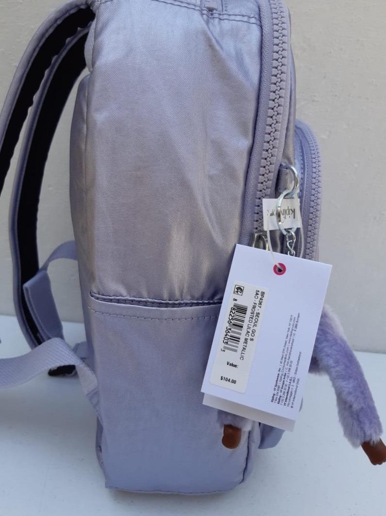 0dbfa7c31 Kipling Mochila Seoul Small 100% Original Lila Oferta - $ 1,799.00 ...