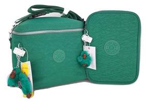 c518ec024 Lonchera Kipling Verde - Equipaje y Bolsas en Mercado Libre México