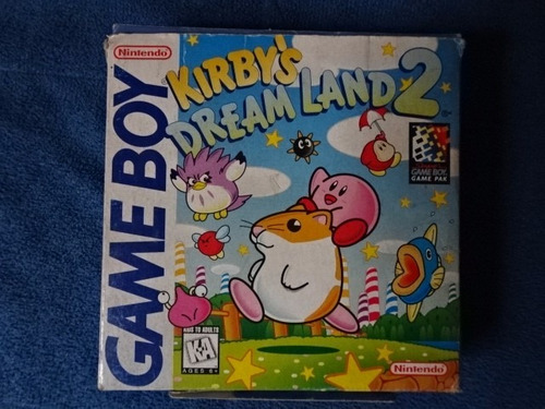 kirby dream land 2 y 1 para game boy en perfecto estado