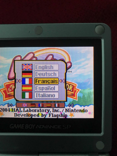 kirby - gameboy advance (multi idioma) - versión int.
