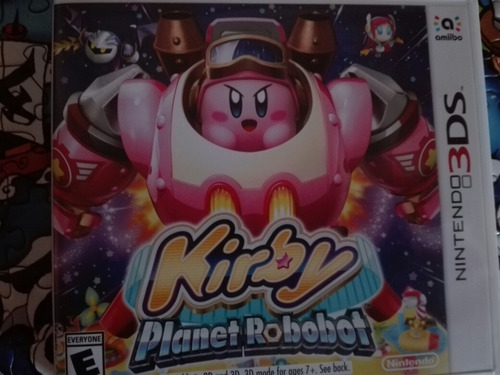 kirby planet robot