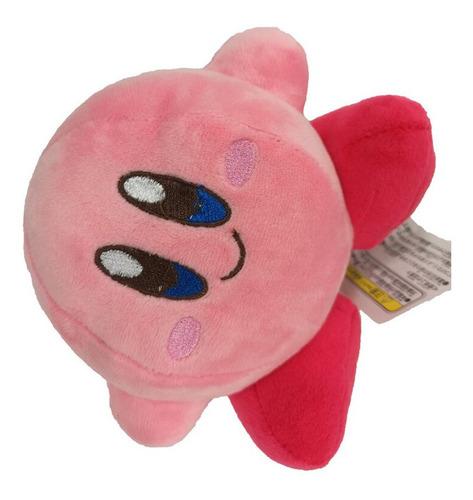 kirby rosa bolinha 14 cm altura nintendo super mario bros