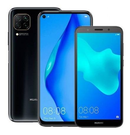 kirin combo celular huawei p40 lite 128gb negro (midni ck882