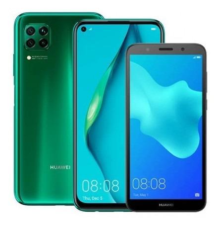 kirin combo celular huawei p40 lite 128gb verde (crush tk333