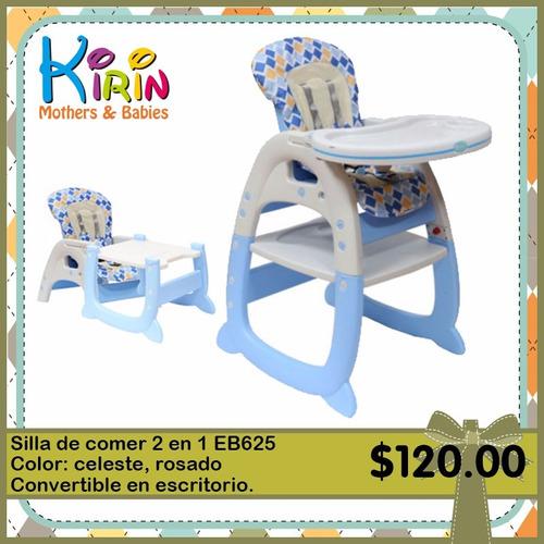 kirin silla de comer 2 en 1 puede convertir en escritorio