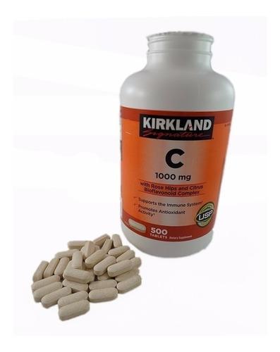 kirkland signature vitamina c con rose hips