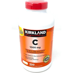 Kirkland Vitamina C 1000mg 500 Tabletas Envío Gratis Ya!