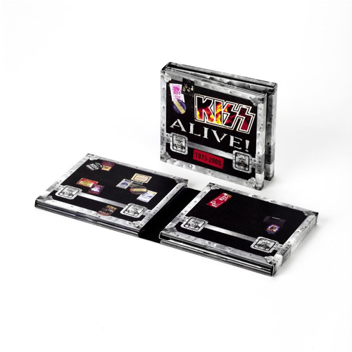 kiss : alive! box set importado