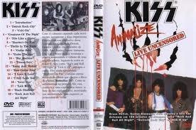 kiss animalize live uncensored dvd original