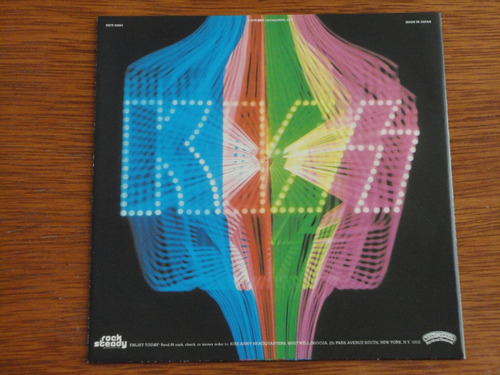 kiss collectible mini lp paper sleeve import japan