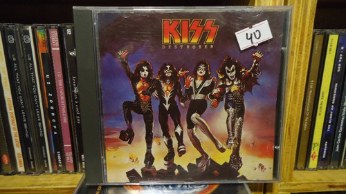 kiss destroyer cd