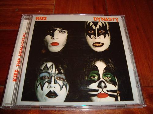 kiss dinasty  remaster poster  logo zz cd germany