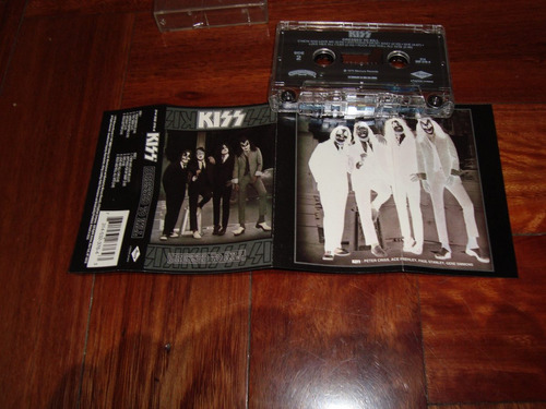 kiss dressed to kill remaster 1996 cassette made in usa