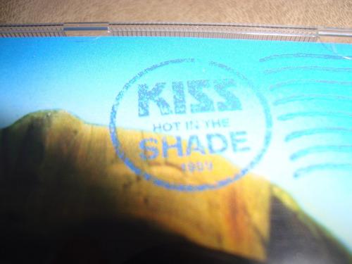 kiss  hot in the shade- logo distinto zz- cd germany