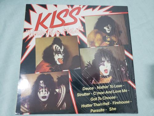 kiss - hotter than metal - lp importado