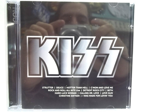 kiss icon cd original estado impecável