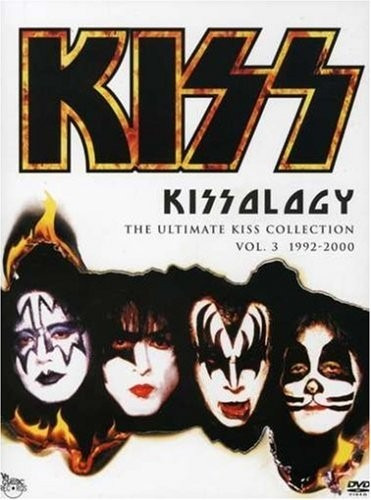 kiss kissology vol 3 1992 - 2000 coleccion en discos dvd