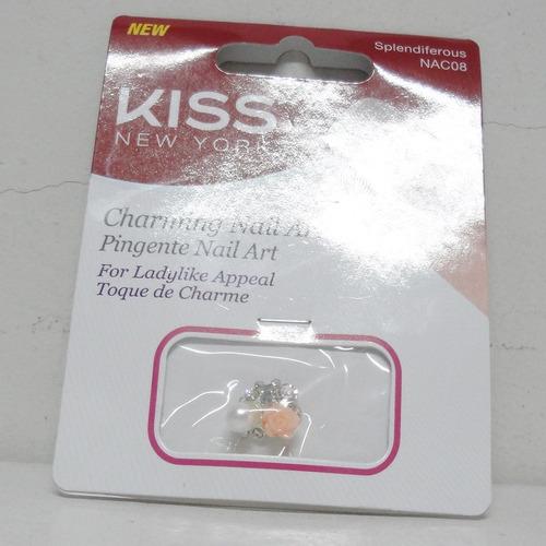 kiss ny pingente para nail art nac08 - splendiferous