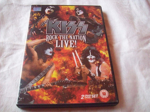 kiss - rock the nation live! doble dvd