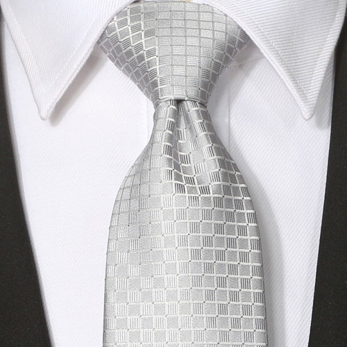 kissties mens solid extra long tie corbata gris sabio + caja
