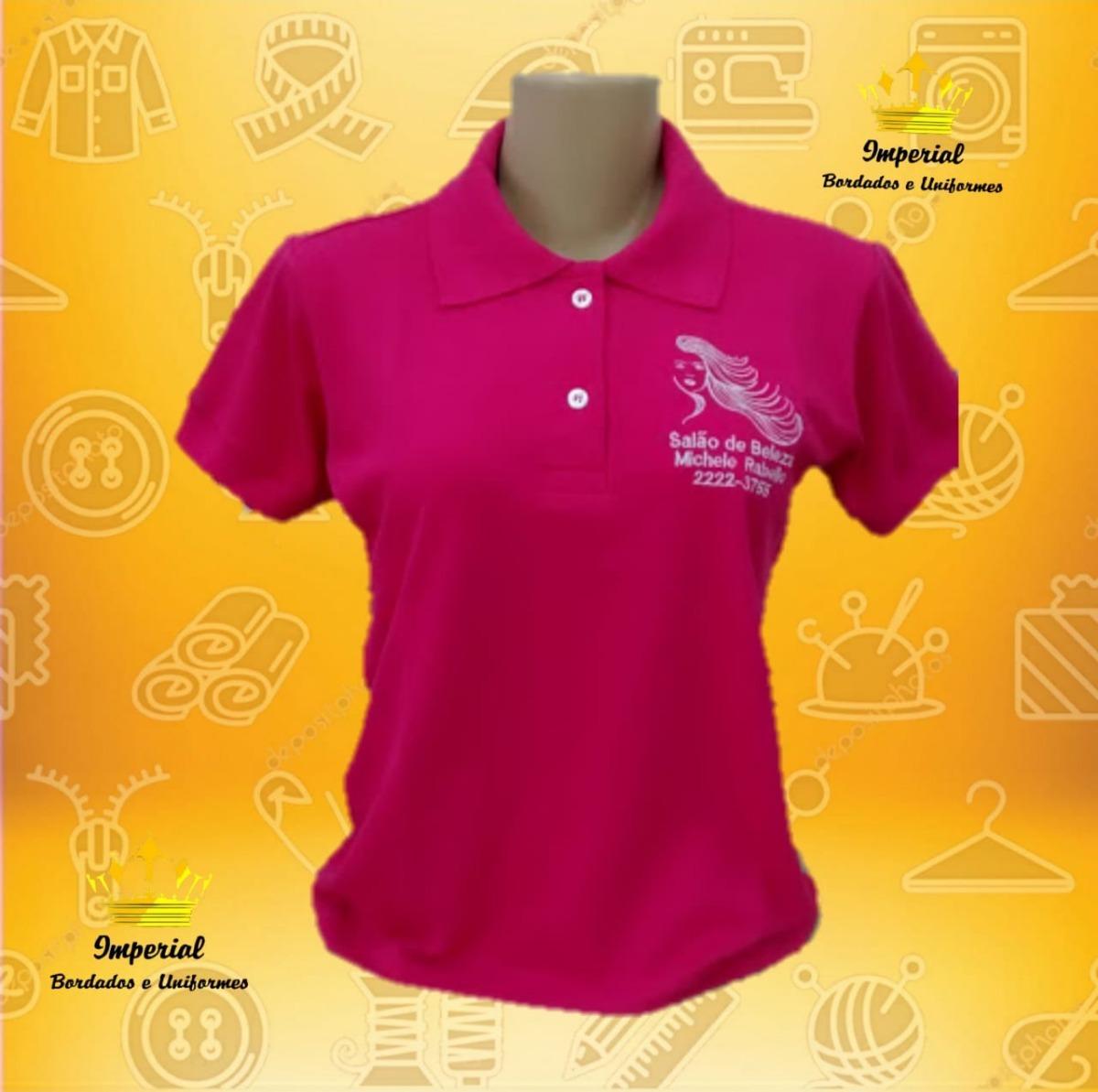 d3301244a5 kit 01 camisa polo personalizada. Carregando zoom.