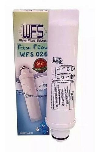 kit 01 filtro refil purificador midea sensia e liva  wfs
