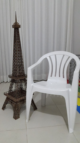 kit - 01 torre 1,25mt + 01 80cm + 02 25cm + 01 40cm