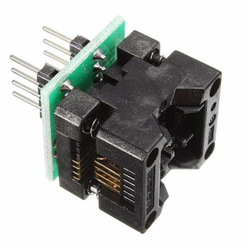 kit 02 adaptadores para gravador de eprom g540 tl866 ch341a