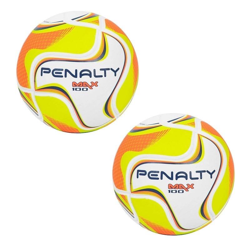 00768e3e0b kit 02 bolas de futsal penalty max 100 sub 11 termotec. Carregando zoom.