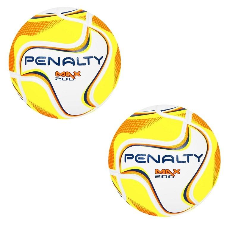 6f17f2ba49193 kit 02 bolas de futsal penalty max 200 sub 13 termotec. Carregando zoom.