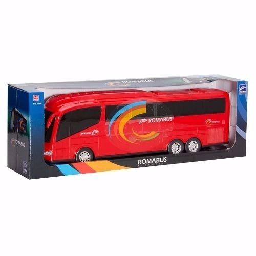kit 02 brinquedo infantil ônibus roma bus executive - roma