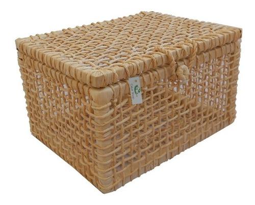 kit 02 caixas palha de milho 28x24x16 promoção última peça