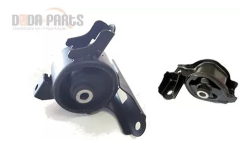 kit 02 calços coxins motor câmbio  honda fit automático