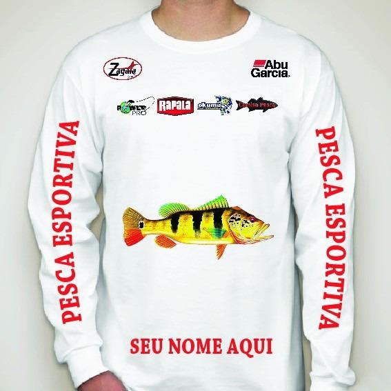 151f73774 Kit 02 Camisas Personalizada Nome Pescador - R  114