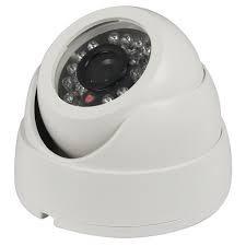 kit 02 câmera dome infra + dvr 4 canais multi hd + hd 500 gb