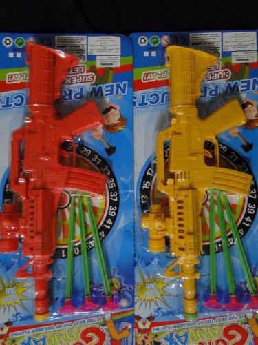 kit 02 metralhadora  mola para disputa nerf duelo tiro alvo