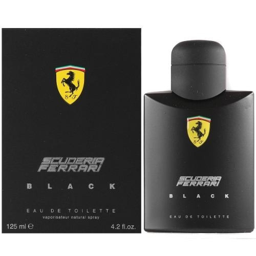 kit 02 perfume 01 ferrari black 125ml + 01 ferrari red 125ml