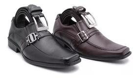 0fb7d3e92 Sapato Social Masculino Couro Legítimo Kit Promocional Cinto - Calçados,  Roupas e Bolsas com o Melhores Preços no Mercado Livre Brasil