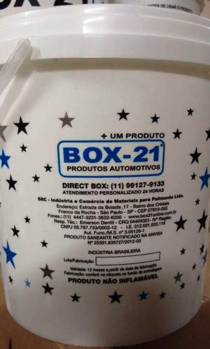 kit 02 und silicone automotivo box 21 3,6 kg