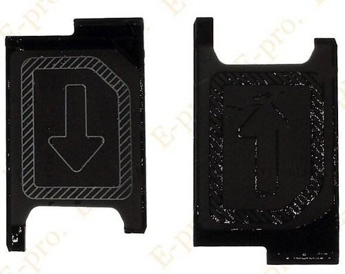 kit 02 unidades bandeja gaveta chip sim sony xperia z3 mini