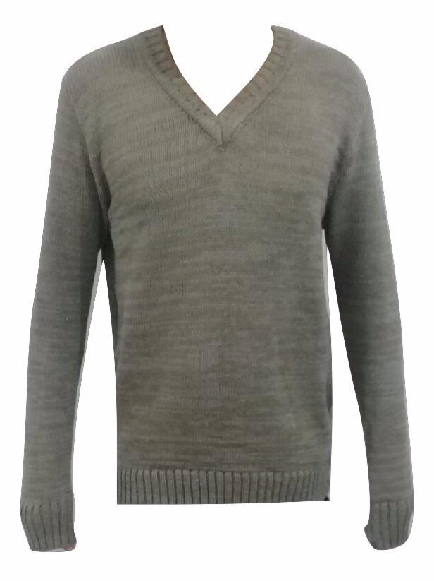 a7b362e3ec kit 03 blusas de linho de lá masculina gola redondo casaco. Carregando zoom.